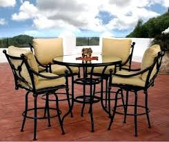 Patio Chairs Bar Height Pub Height Patio Furniture Andreuorte