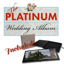 Wedding Albums For Parents The Platinum Package Chantilly Lace Weddings