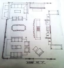 our care free home architect sketch kitchen concept