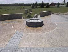 Concrete Fire Pits by Outdoor Fire Pits Pictures Gallery The Concrete Network