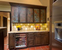 Kitchen Collectibles A Hacienda Ranch Style Home