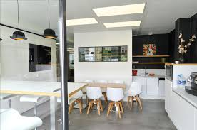 bureau 02 chateau thierry aménagement d une cafétéria par cléram inspiration design bureau