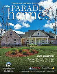 2016 tallahassee parade of homes by tba tallahassee builders