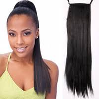 clip on ponytail wholesale clip in ponytail hair extension buy cheap clip in