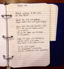 come before him with thanksgiving word in my heart ideas and stories about memorizing scripture