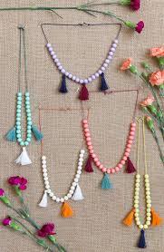 tassel necklace make images Kids 39 moroccan tassel necklace camille styles jpg