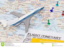 Travel Map Of Europe by Map Of Europe And Toy Airplane Royalty Free Stock Photo Image