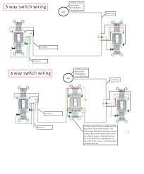 wiring diagram for a 3 way switch to single light 4 endear wire