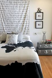 bedroom makeover ikea fabric u0026 metal trunks chuzai living