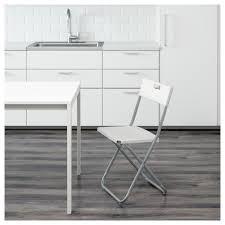 ikea chaises pliantes et empilables gunde chaise pliante ikea
