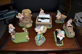 Ceramic Desk Accessories Free Seven Dwarfs Desk Set Ceramic Collector S Set Office