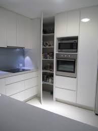 tall corner storage cabinet with doors kitchen stand alone white