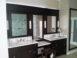 Dual Illuminated Vanity Mirrors Bathroom Cabinets Bathroom Mirrors Contemporary Round Bathroom