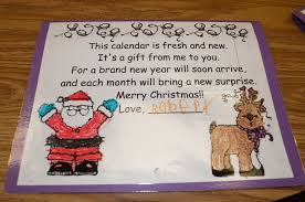 mrs ricca s kindergarten calendars parent gifts