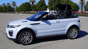 range land rover is the land rover range rover evoque convertible a real suv w