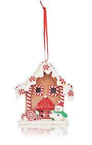 kurt s adler led gingerbread house ornament barneys new york