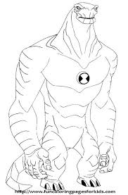 ben 10 coloring pages nice cute templates niceimages org