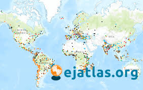 Michigan On The Map by Ejatlas Mapping Environmental Justice