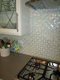 moroccan tile kitchen backsplash kitchen decoration using diagonal white glass mirrored tile