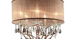 Cool L Shades Chandelier Antique Copper Drum Chandelier For Cool