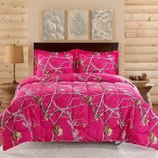 Purple Camo Bed Set Realtree Bright Pink Camo Comforter Set