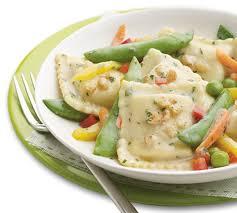 cuisine butternut lean cuisine butternut squash ravioli in a sauce with