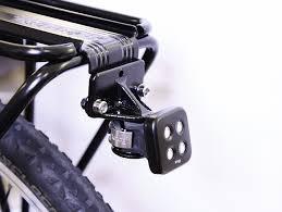rear bike light rack mount knog blinder mount for topeak rear bike rack by shanegblomberg