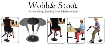 wobble stool adjustable height active sitting balance chair