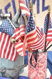 Decorative Wedding House Flags Celebrating July Fourth The Mackey Housethe Mackey House