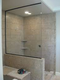 Sea Shower Doors Glass Partitions In Ft Myers Fl With Regard To Shower Partition