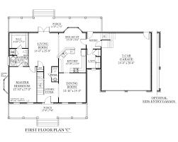 1 story 4 bedroom house plans uncategorized 2 story 4 bedroom house floor plan striking for