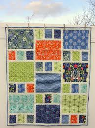 Ideas For Christmas Fat Quarters by Fat Quarter Crib Quilt Large Prints Art Gallery Fabrics And