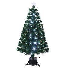 tree with fibre optic lights rainforest islands ferry
