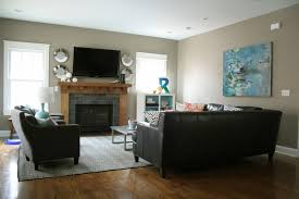 Living Room Setup With Fireplace by Living Room Charming Furniture Arrangement In Family Room