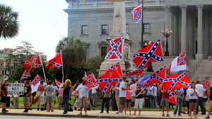 What Is The Meaning Of The Rebel Flag Confederate Flag Supporters Brawl With Protesters At The South