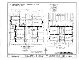 white house floor plan file first white house of the confederacy interior plan png