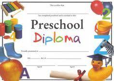 preschool graduation diploma printable preschool diploma work infants prek