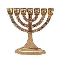 jerusalem menorah menora 7 branch menorah gold color from holy land jerusalem ebay