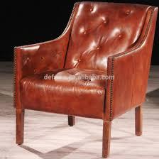Vintage Brown Leather Chair President Vintage Brown Leather Buttoned Armchair Buy Brown