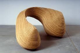 curvature wood sculptures fox