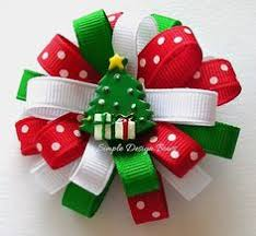 christmas hair bows how to make a ribbon christmas tree search christmas