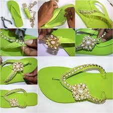 Decorate Flip Flops 35 Creatively Cool Diy Sandals Diy Projects For Teens