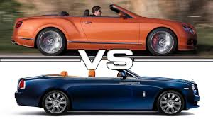 bentley wraith convertible bentley continental gt convertible vs rolls royce dawn youtube