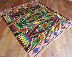 Aztec Area Rug Southwestern Rug Etsy