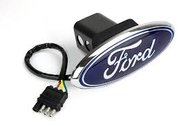 logo ford amazon com reese towpower 86065 licensed led hitch light cover