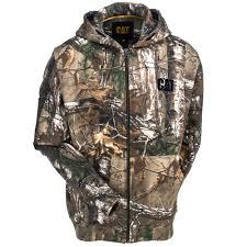 cat apparel sweatshirts men u0027s 1910729 10520 realtree xtra camo