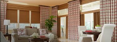 Decorative Traverse And Stationary Drapery by Horizons Draperies U0026 Horizons Side Panels Today U0027s Window