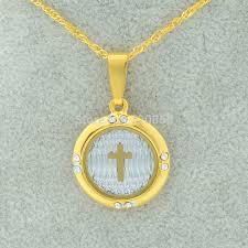 catholic pendants wholesale wholesale gold cross necklace pendant for women