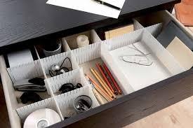 organisateur de tiroir bureau organisateur de tiroir free blanc compactor