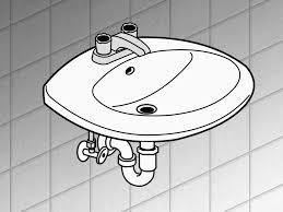 replace bathroom sink drain pipe inset sink replacing bathroom sink drain lovely howo install